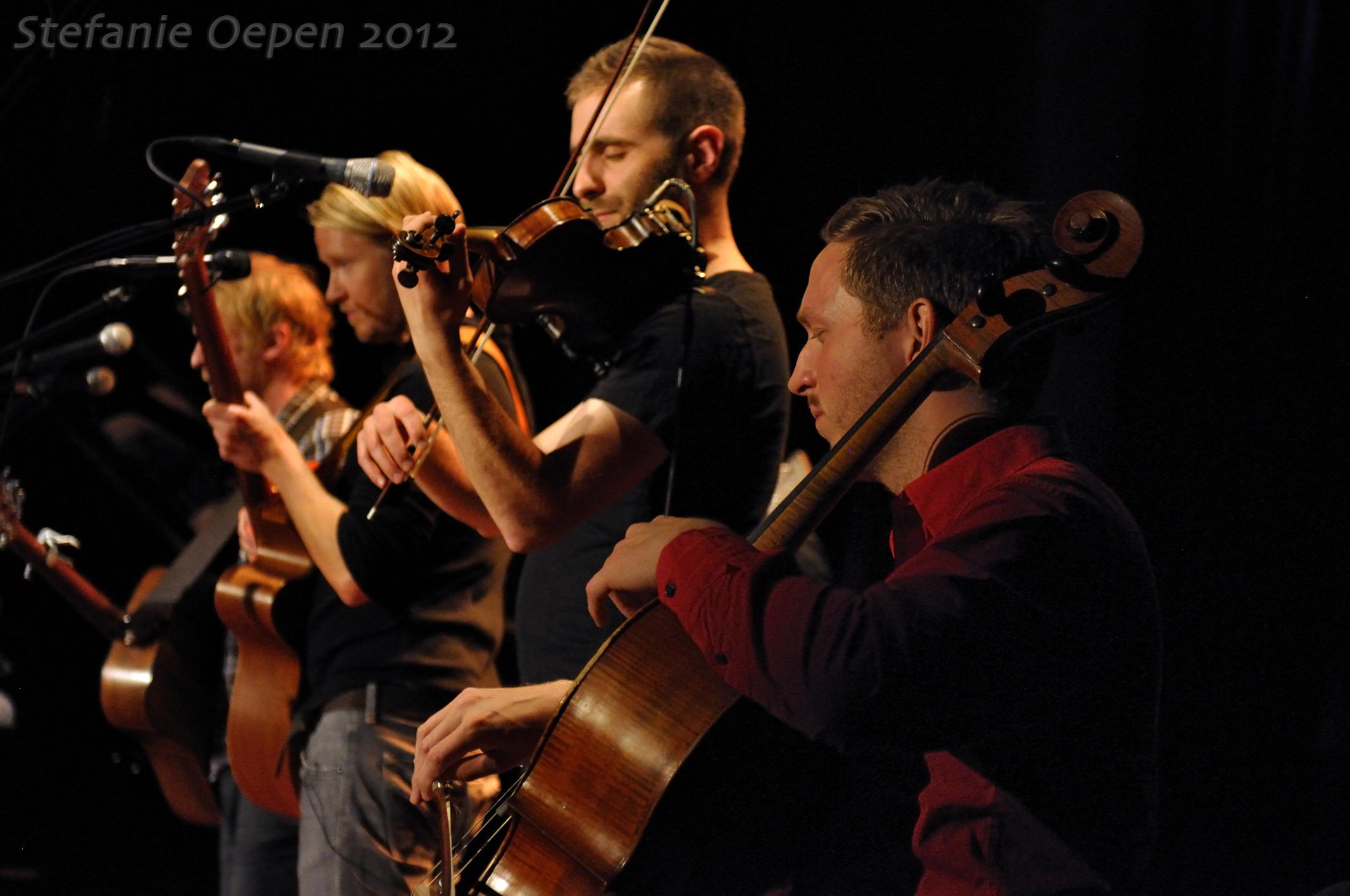 Gunnar Már Jakobsson, Ragnar Ólafsson, Karl James Pestka and Hallgrímur Jónas Jensson (Árstíðir); Osnabrück 2012